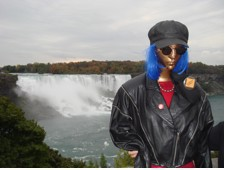 Jolene visiting Niagara Falls